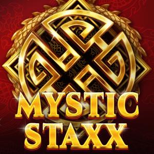 Mystic Staxx logo achtergrond