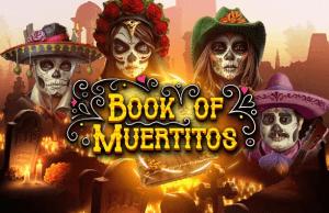 Book of Muertitos logo achtergrond