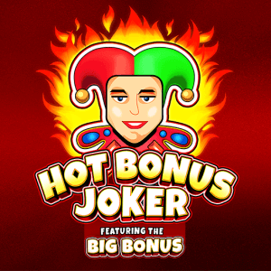 Hot Bonus Joker logo achtergrond