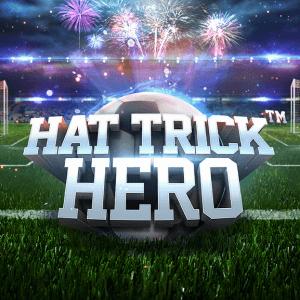 Hat Trick Hero logo achtergrond