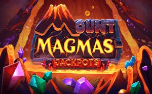 Mount Magmas logo achtergrond