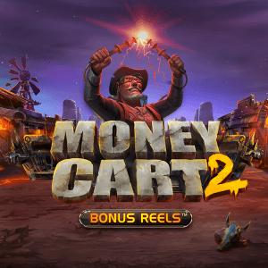 Money Cart 2 Bonus Reels logo achtergrond