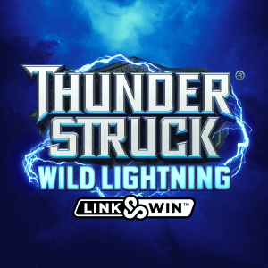 Thunderstruck Wild Lightning logo achtergrond