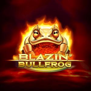 Blazin Bullfrog logo achtergrond