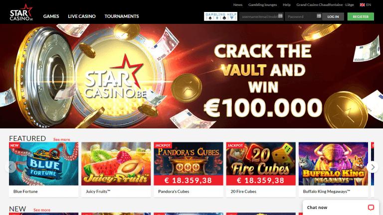 Star Casino Screenshot 1