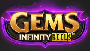 Gems Infinity Reels logo achtergrond