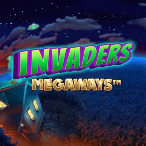 Invaders Megaways logo achtergrond