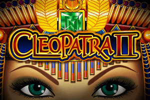 Cleopatra 2 logo achtergrond