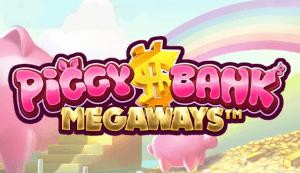 Piggy Bank Megaways logo achtergrond