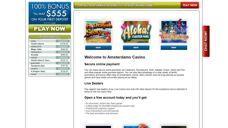 Amsterdams Casino Screenshot 3