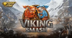 Viking Smash logo achtergrond