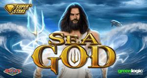 Sea God logo achtergrond