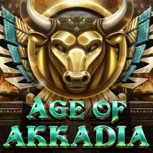 Age of Akkadia logo achtergrond