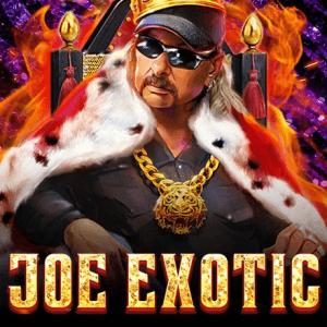 Joe Exotic logo achtergrond