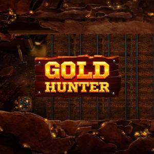Gold Hunter logo achtergrond