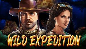 Wild Expedition logo achtergrond