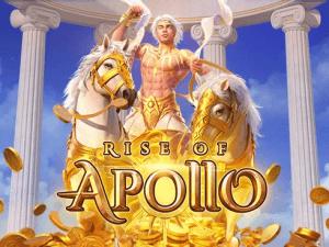 Rise of Apollo logo achtergrond