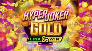 Hyper Joker Gold logo achtergrond