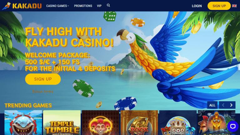 Kakadu Casino Screenshot 1