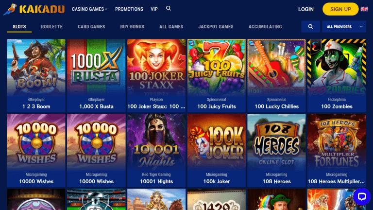 Kakadu Casino Screenshot 2