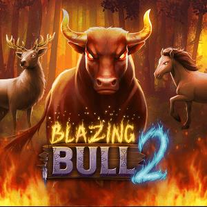 Blazing Bull 2 logo achtergrond
