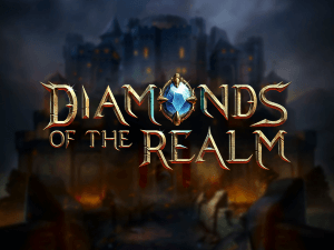 Diamonds of the Realm logo achtergrond