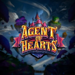 Agent of Hearts logo achtergrond