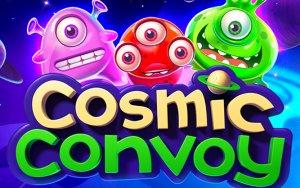 Cosmic Convoy logo achtergrond