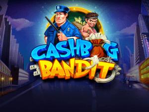 Cashbag Bandit logo achtergrond