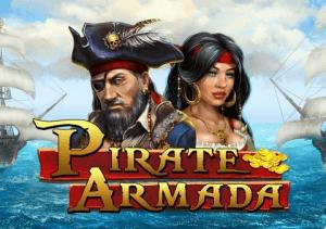 Pirate Armada logo achtergrond