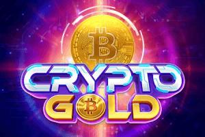 Crypto Gold logo achtergrond