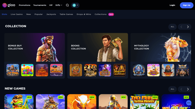 Gioo Casino Screenshot 2