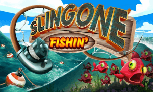 Slingone Fishin logo achtergrond