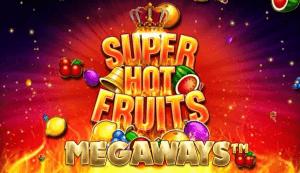 Super Hot Fruits Megaways logo achtergrond