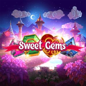 Sweet Gems logo achtergrond