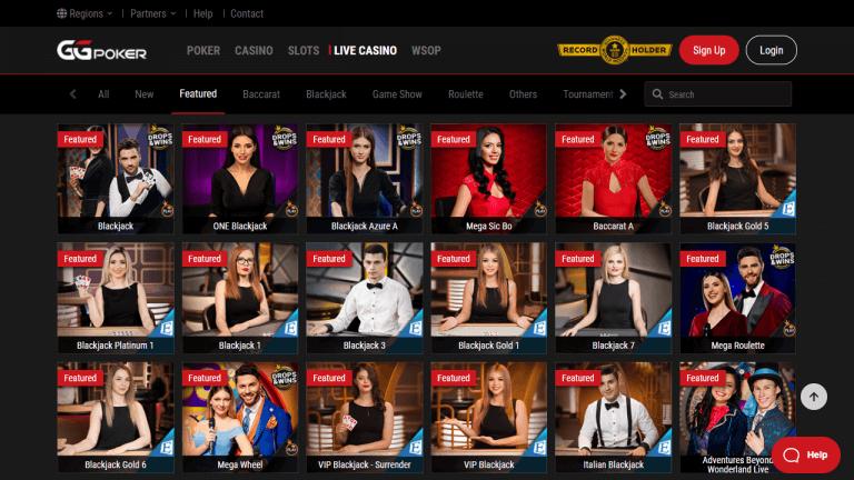 GGPoker Casino Screenshot 3