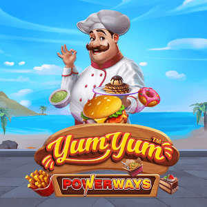 Yum Yum Powerways logo achtergrond