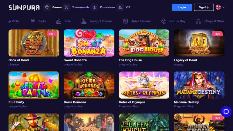 Sunpura Casino Screenshot 2