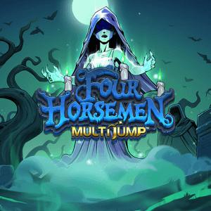Four Horsemen Multi Jump logo achtergrond