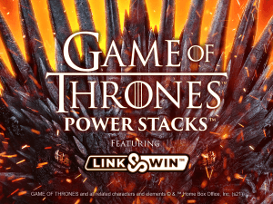 Game of Thrones Power Stacks logo achtergrond