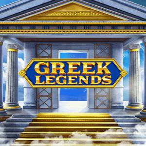 Greek Legends logo achtergrond