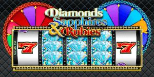 Diamonds, Sapphires & Rubies logo achtergrond