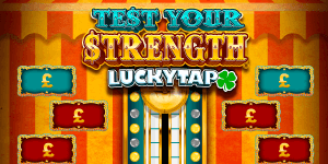Test Your Strength logo achtergrond