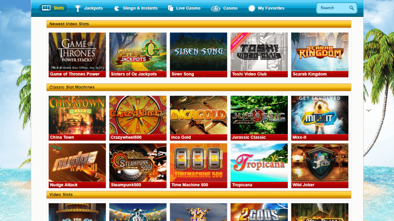 PlaySunny Casino Screenshot 2