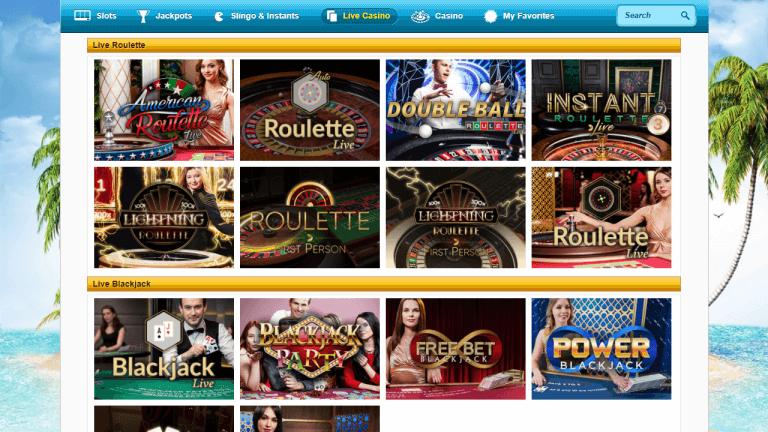 PlaySunny Casino Screenshot 3