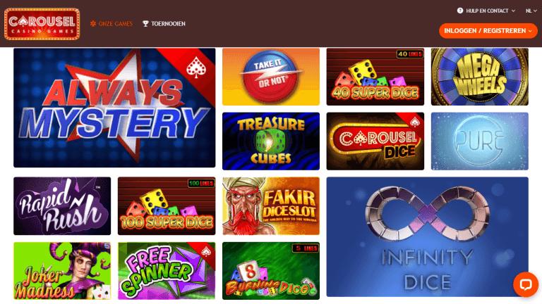 Carousel Casino Screenshot 2