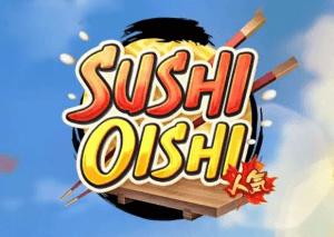 Sushi Oishi logo achtergrond