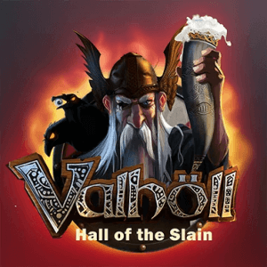 Vallhöl logo achtergrond