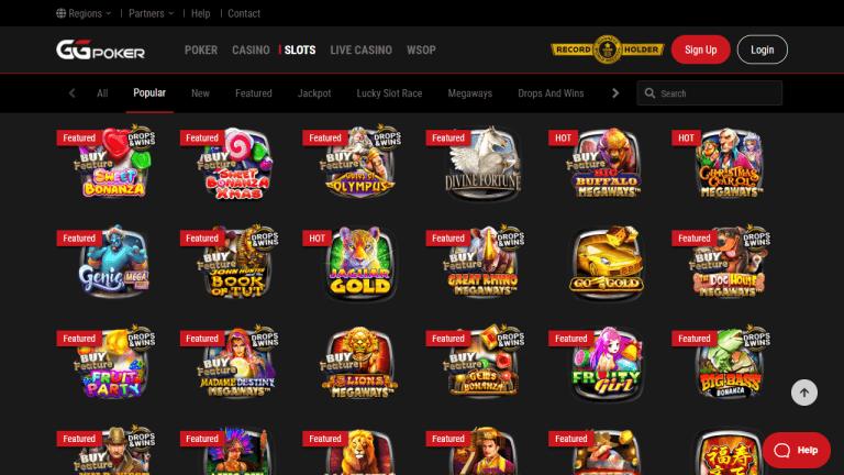 GGPoker Casino Screenshot 2