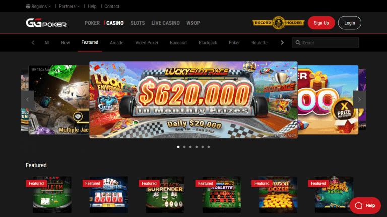 GGPoker Casino Screenshot 1